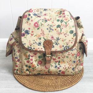 Patricia Nash Prairie Rose Tavella Flap Backpack